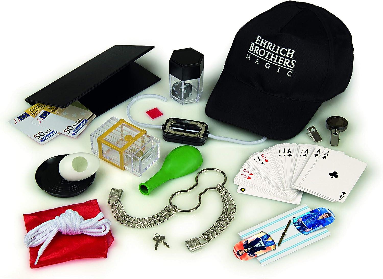 Clementoni 59049 Ehrlich Brothers Street Magic, Zauberkasten für Kinder ab 8 Jahren, magisches Equipment für 40 verblüffende Zaubertricks,...
