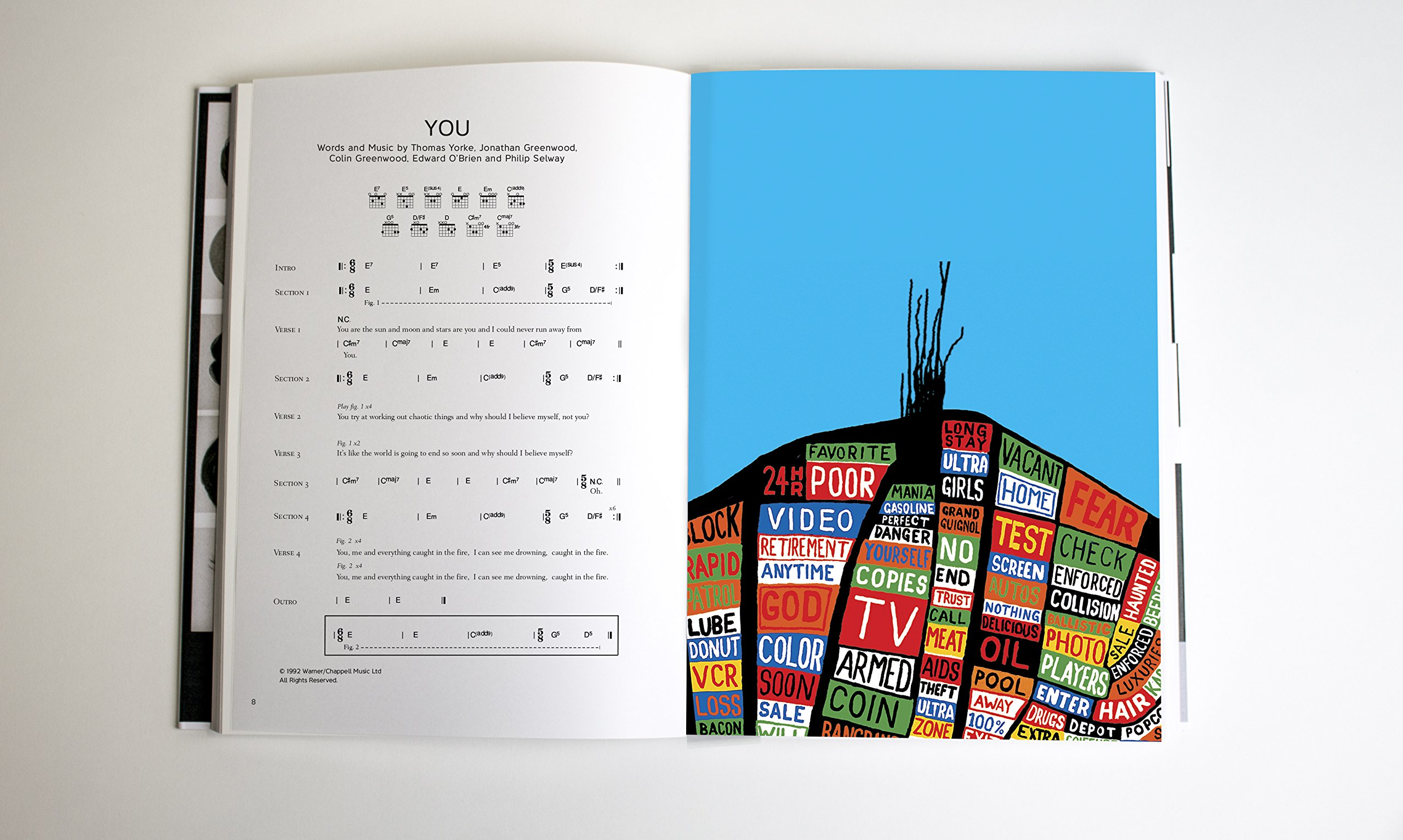 Radiohead Complete Lyrics Chords Faber Edition Radiohead