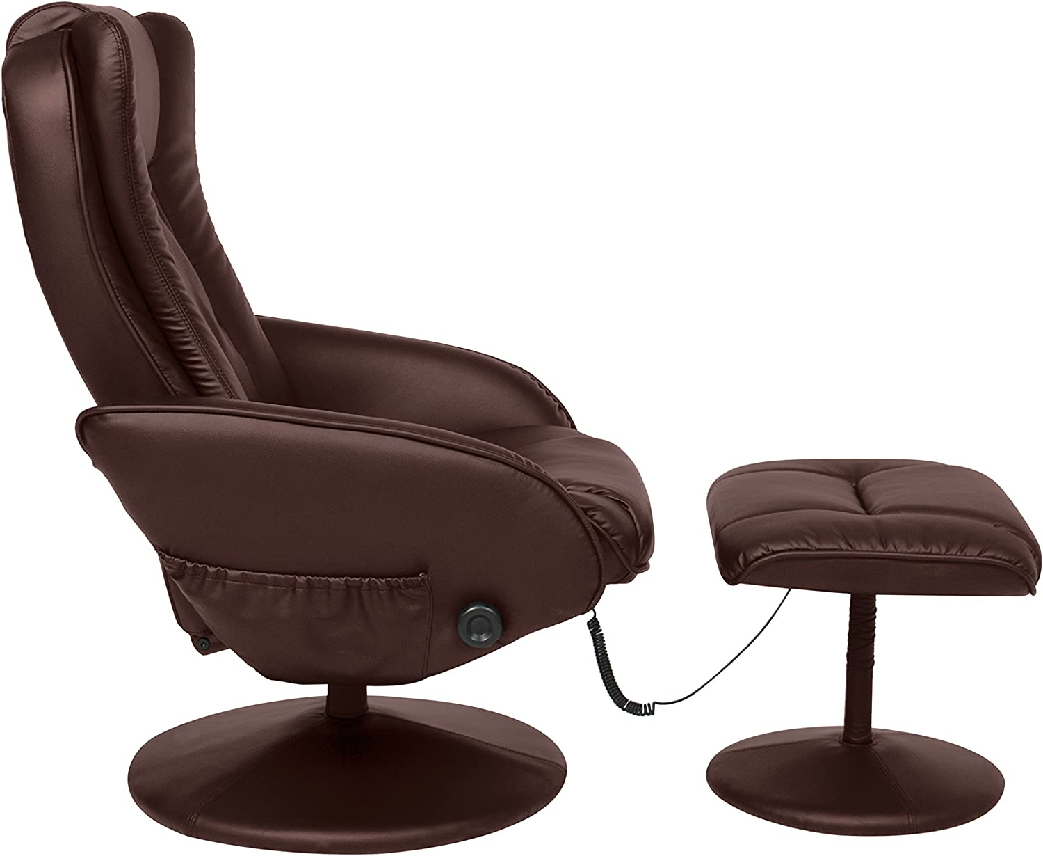 Best Choice Products Recliner Massage Chair from one side