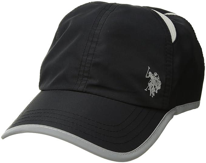 U.S. Polo Assn. Active Men s Poly-Nylon Mesh Baseball Cap 3b9c901c386