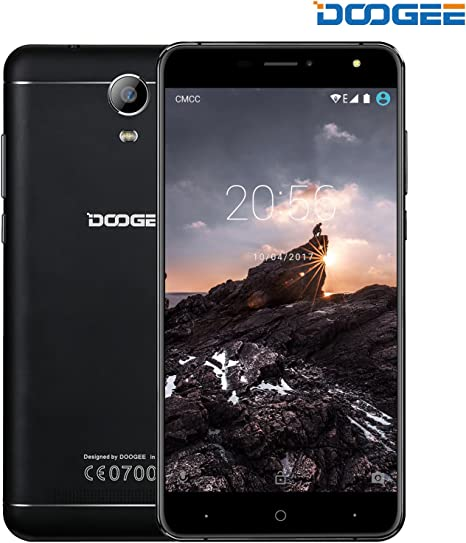 Moviles Libres Baratos, DOOGEE X7S Dual SIM Smartphone Libre Barato 4G, Android 7.0 Telefonos, 6 Pulgadas HD IPS Display , MT6737 Quad Core Movil, 1GB RAM + 16GB ROM, Batería grande 3700mAh: Amazon.es: Electrónica