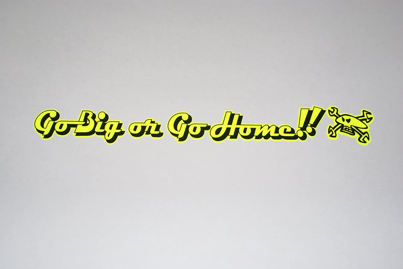Flo Yellow Rapro Graphics Guy Martin Visor Decal//Sticker