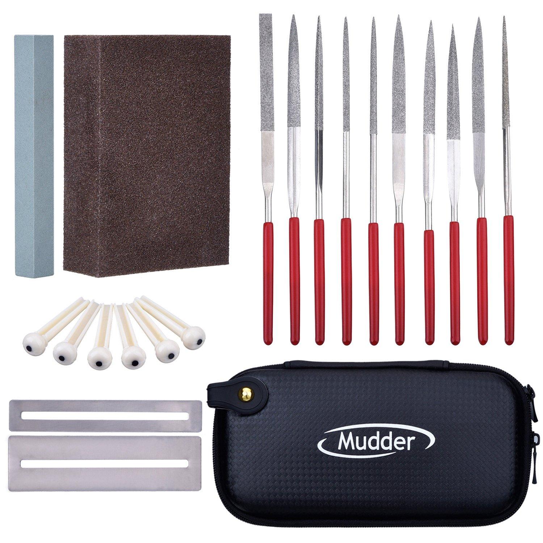 Mudder Guitar Repair Kit Repair Maintenance Tools Guitar Ukelele Bass Care Set