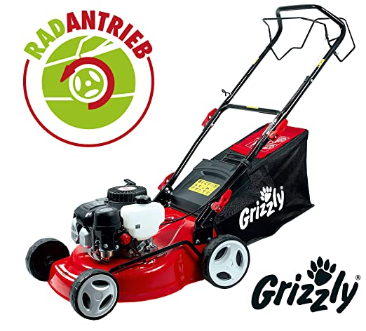 Grizzly Cortacésped de Gasolina BRM 4210-20 A 1.6 kW 2.1 HP ...