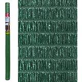 Seto Artificial de ocultación Verde de plástico para jardín - LOLAhome