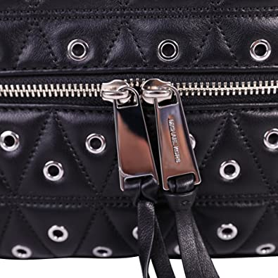 8494da0718ae Image Unavailable. Image not available for. Color  MICHAEL Michael Kors Rhea  Grommeted Leather Backpack ...