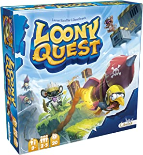 Libellud- Loony Quest: The Lost City - español, Color (Asmodee LOO02ES): Amazon.es: Juguetes y juegos