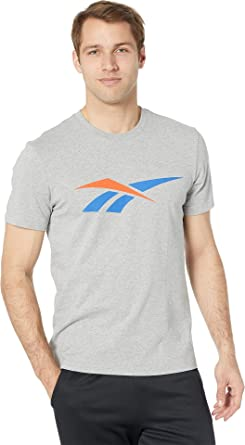 a2d547cd2 Reebok Men's 90s Print T-Shirt at Amazon Men's Clothing store:
