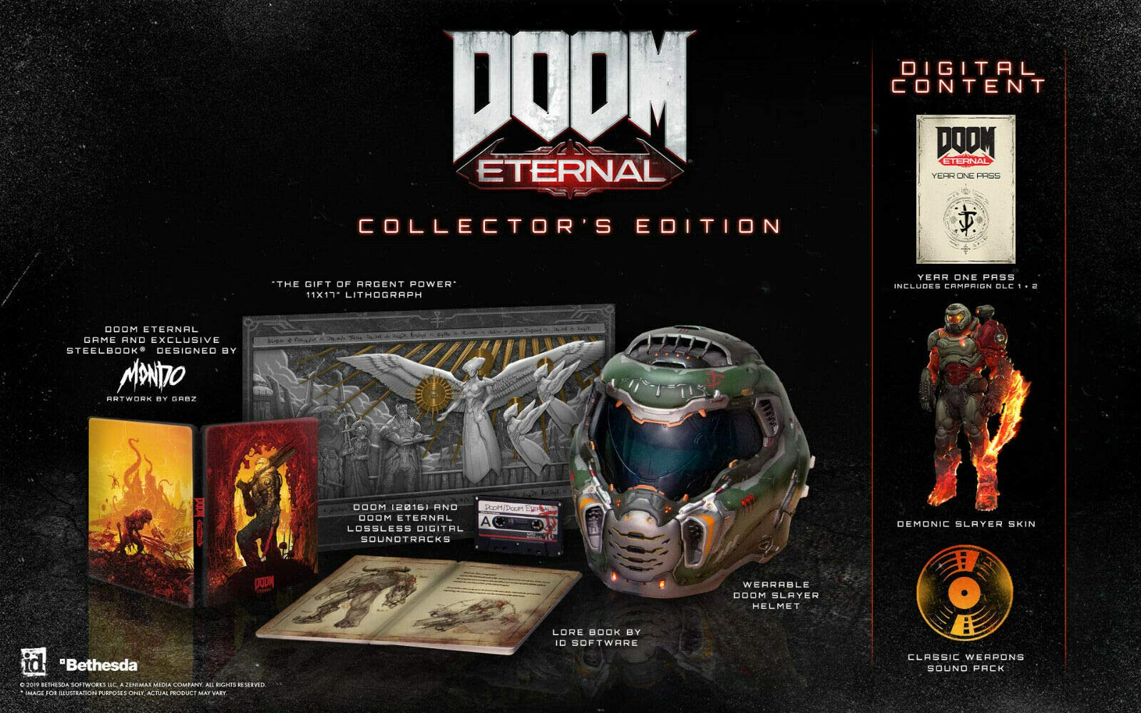 Doom Eternal Collector S Edition Ps4 Buy Online In Bosnia And