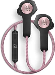 Bang & Olufsen Beoplay H5 Wireless In-Ear Headphones, Splash and Dust Resistant Headphones with Built-In Microphone and Remote, Dusty Rose