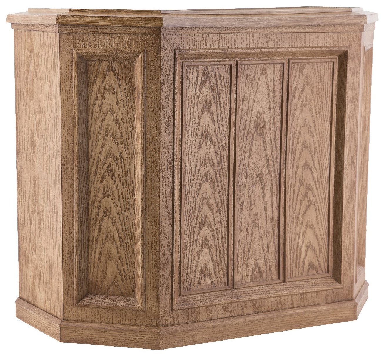 AIRCARE 696 400HB Digital Whole-House Console-Style Evaporative Humidifier, Light Oak by Essick Air