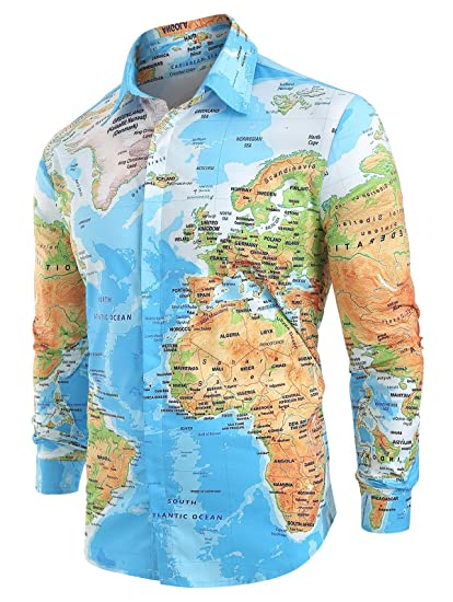 Men World Map | Print Hidden on Shirt Spring Long Sleeve | Lapel Casual on national geographic world maps print, world map to edit, spring forward sign to print, cool world map print, world map to color, world printout, world map to size, world map to zoom, numbers to print, road map fabric with print, world atlas with latitude and longitude, world globe outline printable, latitude longitude world map print, world map to sketch, markers to print, search to print, congo print, world map to make, world map to label, large labeled world map print,