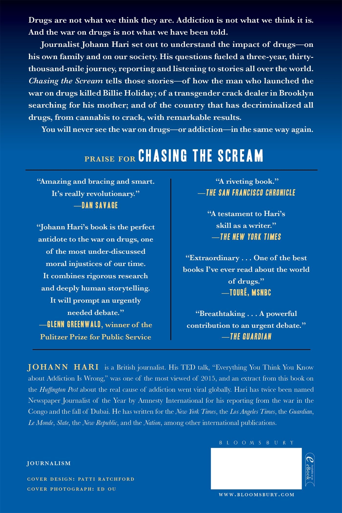 chasing the scream the first and last days of the war on drugs chasing the scream the first and last days of the war on drugs johann hari 9781620408919 amazon com books