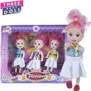 NHR Set of 3 Baby Dolls - for Girls