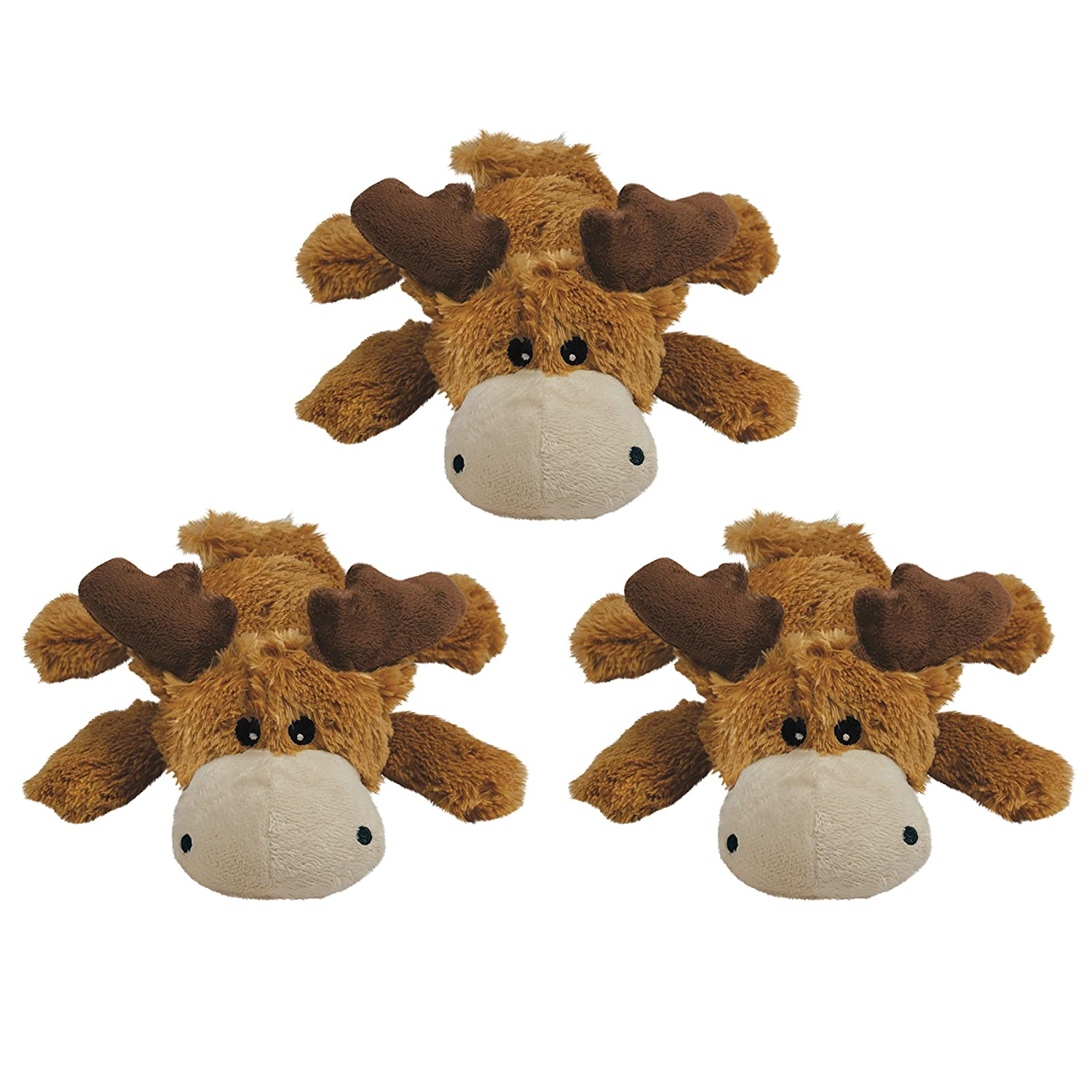 KONG Marvin Moose Trio Cozies Dog Toy AM113