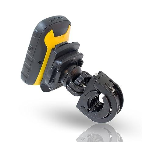 Smart-Planet Fahrradhalter für Ihr Garmin GPS Gerät (vibrationsfrei, mit gut durchdachtem QuickFix-System - Farbe: Schwarz -