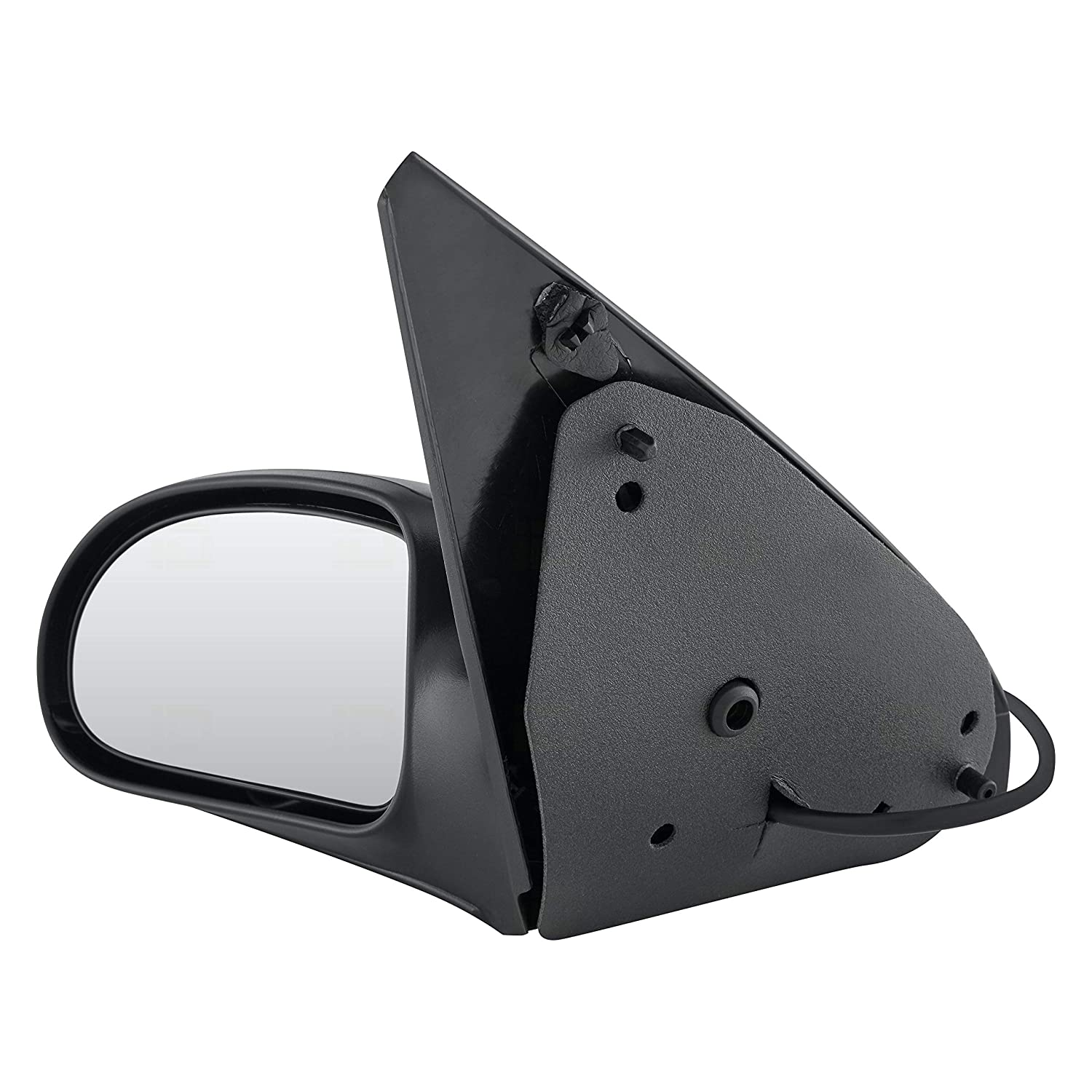 FO1320180 Non-Heated Power Roane Concepts Replacement Left Driver Side Door Mirror for 2000-2007 Ford Focus Black