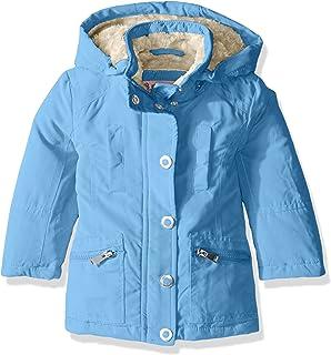 Urban Republic Little Girls' Toddler Microfibre Hooded Jacket, Black, 2T