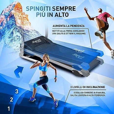 sixtus – cinta de correr eléctrica Plegable Sensor cardíaco ...