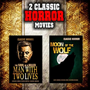 Amazoncom Classic Horror Movie Double Bill Man With Two Lives And