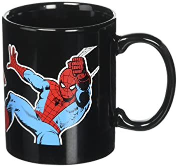 Icup Marvel Spiderman Ceramic Mug11 Character OunceClearAmazon Nw8O0Pyvmn