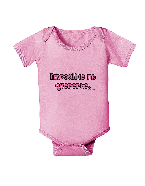 TooLoud Imposible No Quererte Baby Romper Bodysuit