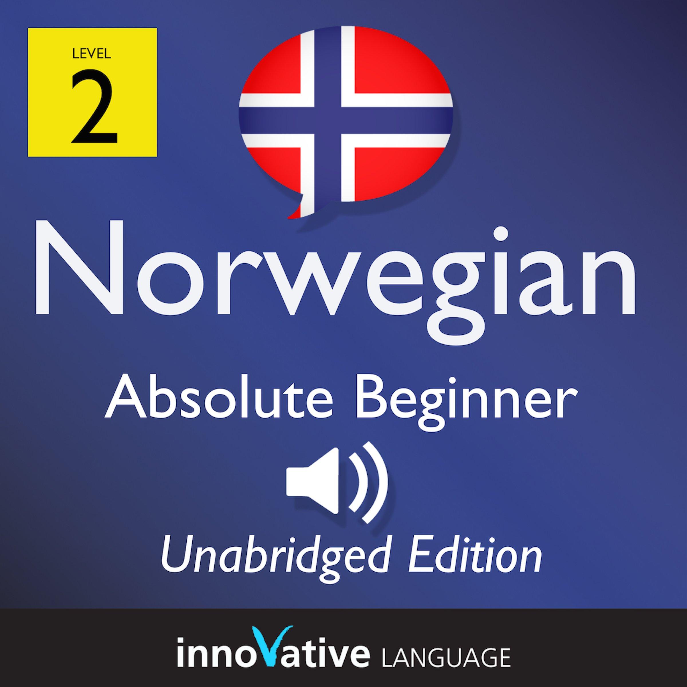Learn Norwegian  Level 2 Absolute Beginner Norwegian Volume 1  Lessons 1 25