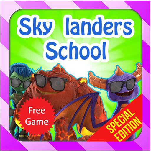 Sky Landers School (Trap Red Skylander)