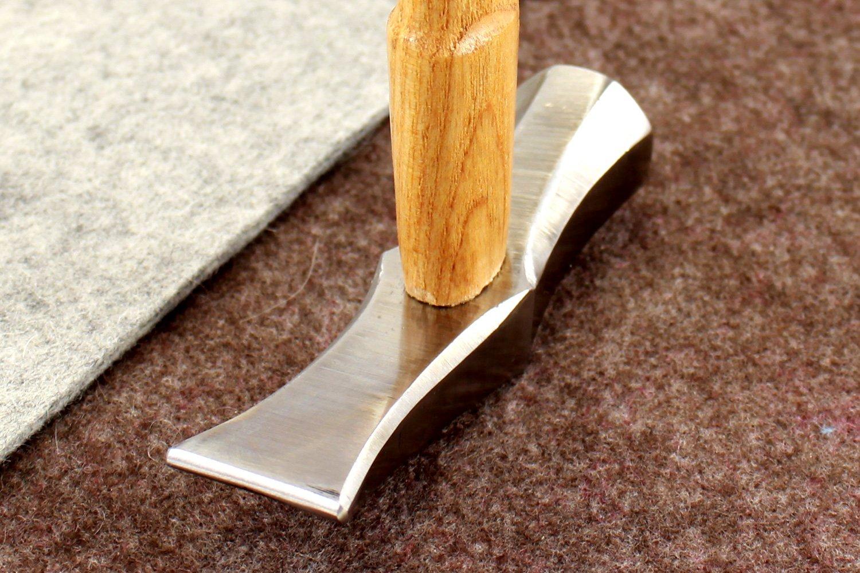 New Vergez Blanchard Saddler Leather Hammer (size 4) by Vergez Blanchard (Image #3)