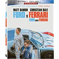 Ford v Ferrari (BD + Digital Code) [Blu-ray] (Bilingual)