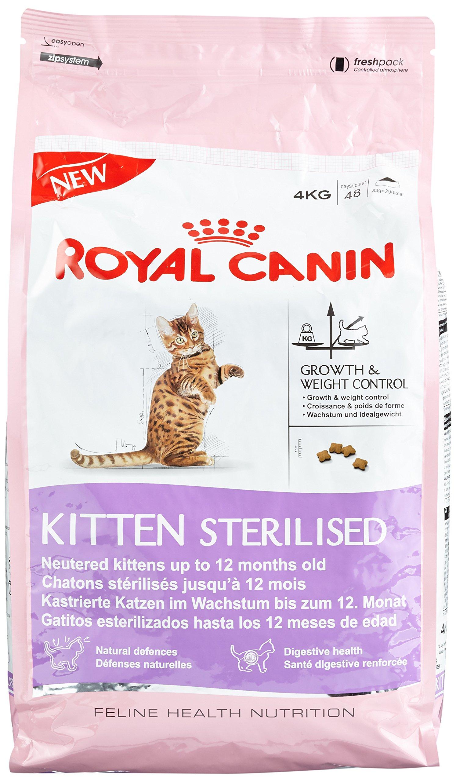 Royal Canin Comida para gatos Kitten Sterilised 4 Kg product image