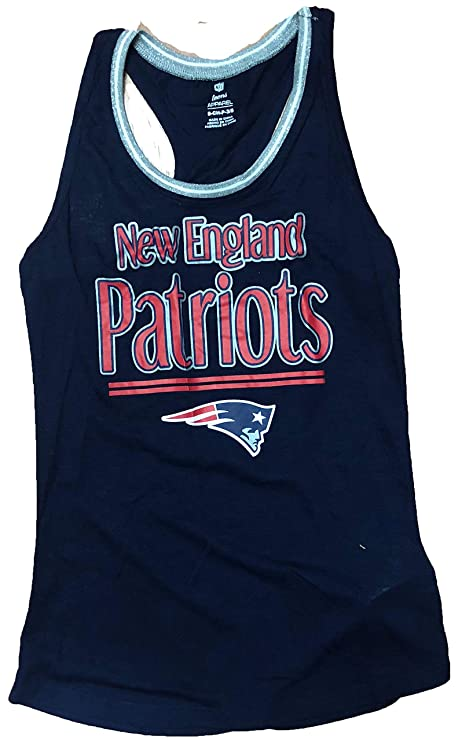 6691950181 NFL Team Apparel England Patriots - Camiseta sin Mangas para Mujer ...