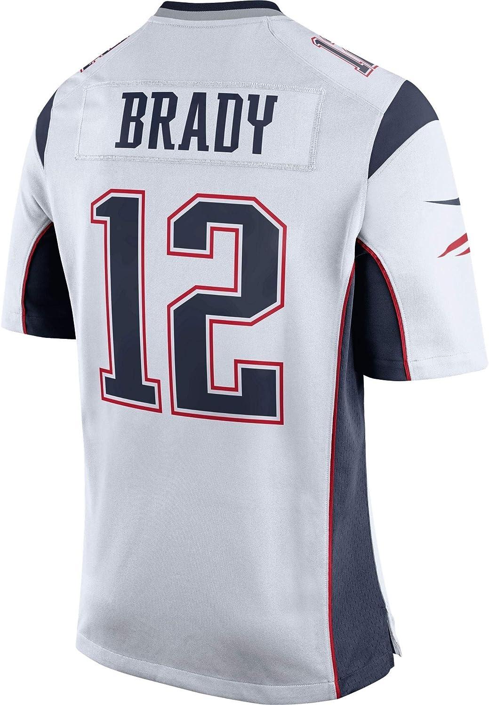 Youth Size New England Patriots Tom Brady 12 Jersey White
