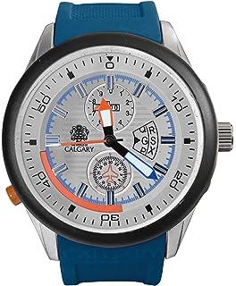 Relojes Calgary Daikoku Prix. Reloj colección Aventura para Hombre con Correa de Goma Azul con