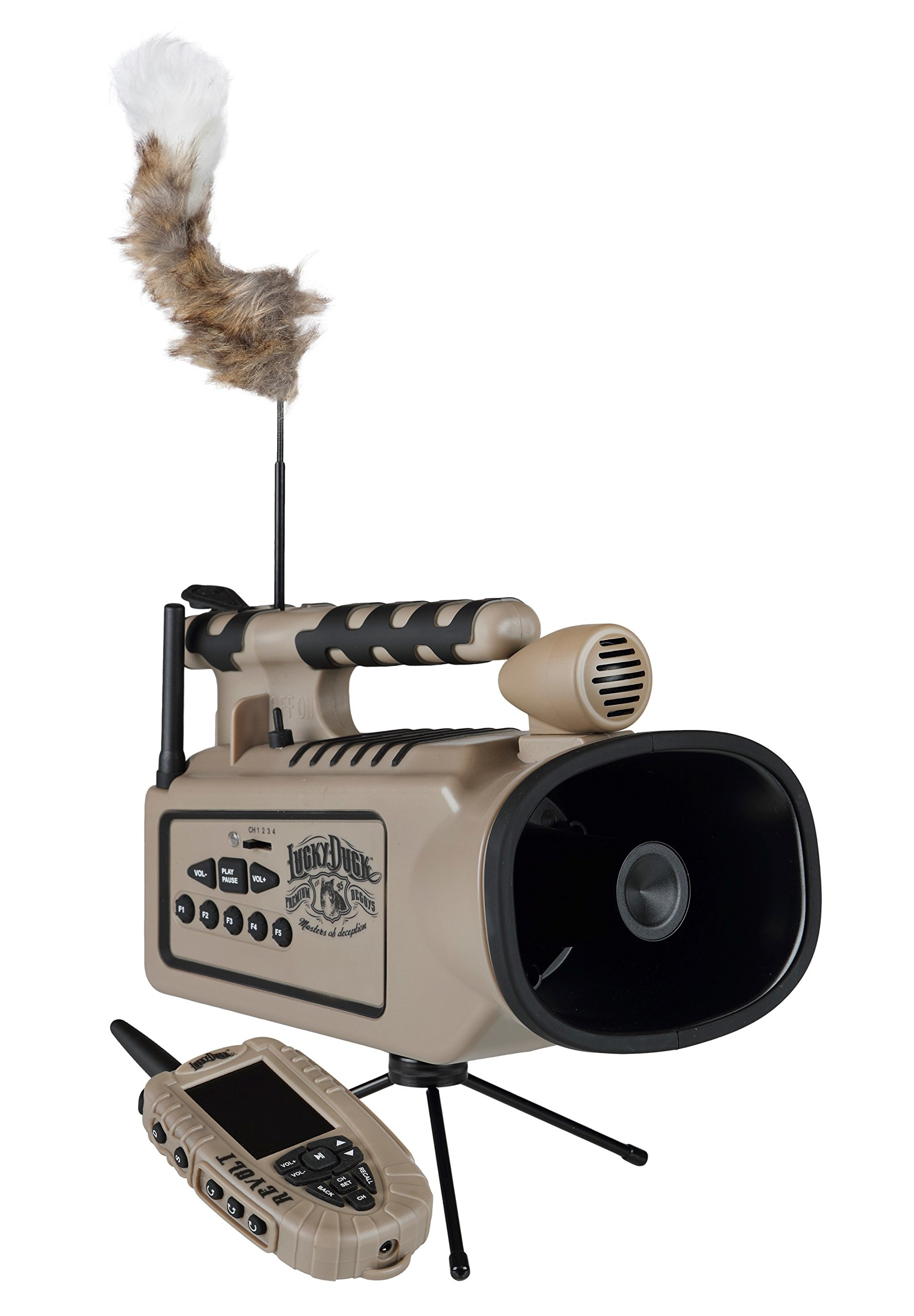 Lucky Duck Revolt Electronic Predator Call with Remote