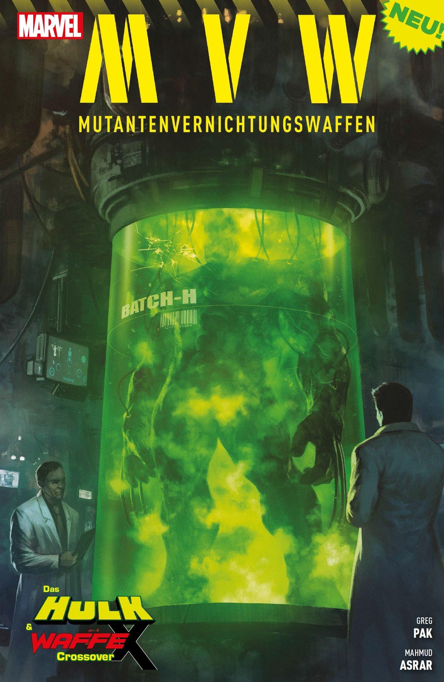 MVW - Mutantenvernichtungswaffen: Das Hulk & Waffe X Crossover
