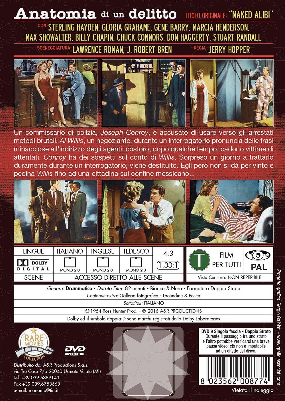anatomia di un delitto rare movies collection registi jerry hopper ...