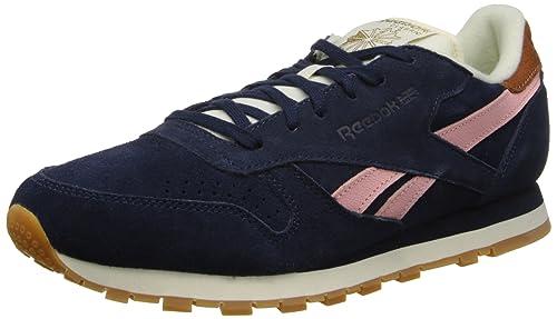 c9838e3fe20b4 Reebok Women's CL Leather Suede Shoe