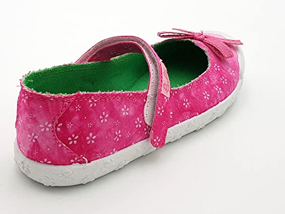 lulù Shoes scarpe bimba bambina primaverili estive sportive ballerine  casual comode modello con strappo colore fuxia numero 34  Amazon.it  Scarpe  e borse b5ea46d7c50