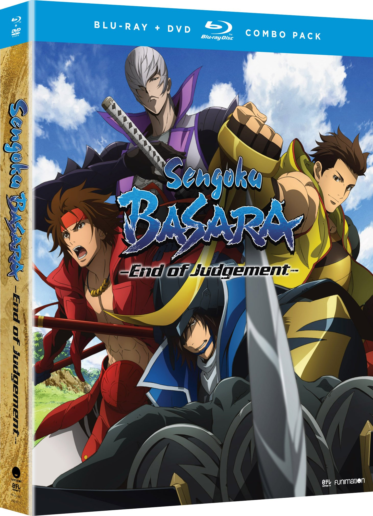 Blu-ray : Sengoku Basara - End Of Judgement - Comp Series (With DVD, 4 Disc)