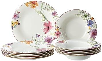 Villeroy Und Boch Mariefleur villeroy boch mariefleur 10 4100 7609 basic dining set 12 pieces