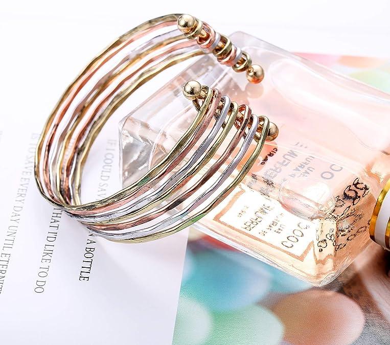 Adramata Collier et Boucles doreilles en Strass fix/és pour Les Femmes Ensemble de Bijoux de mari/ée pour Mariage avec Bracelet en Cristal