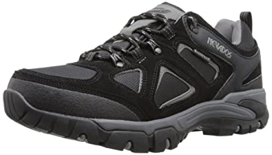 Nevados Men's Spire Low Waterproof Hiking Shoe, Black/Grey, ...