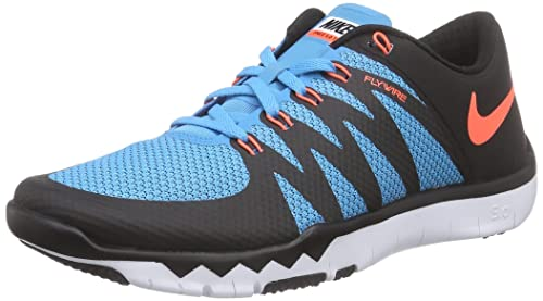 Nike Free Trainer 5.0 V6, Zapatillas de Deporte Interior para Hombre, Negro/Naranja