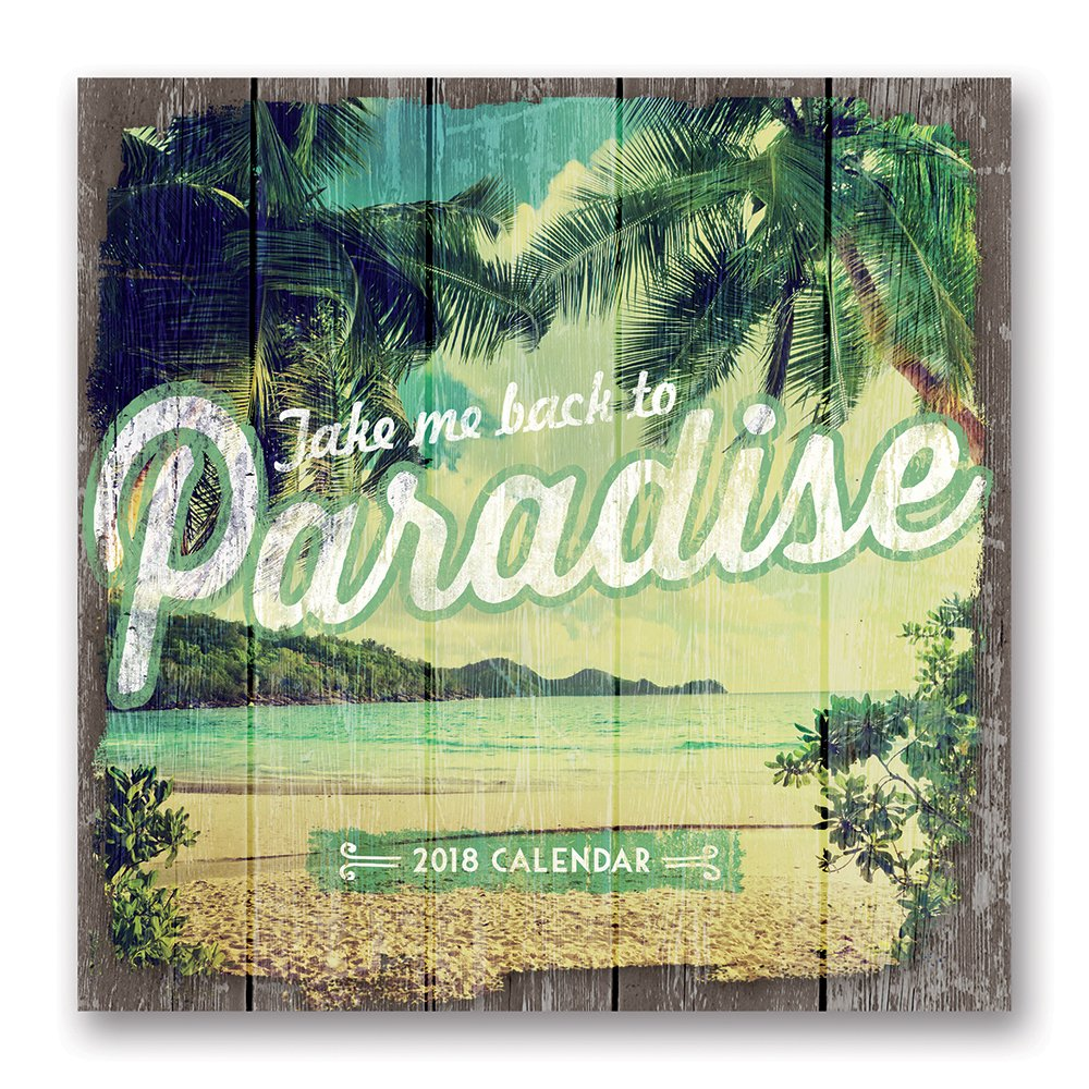 Orange Circle Studio 2018 Wall Calendar, Take Me Back to Paradise pdf