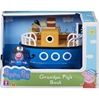 Peppa Pig 6928 Grandpa Pig's Barco con George