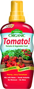Espoma Tomato! Liquid Plant Food, Natural & Organic Tomato & Vegetable Food, 18 fl oz, Pack of 2