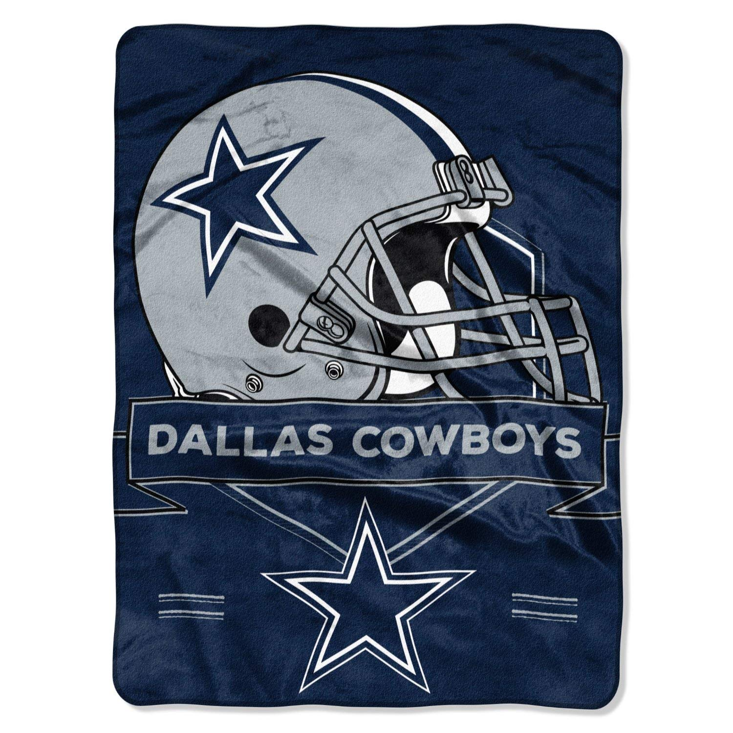 The Northwest Company NFL Dallas Cowboys Prestige Raschel Throw Blanket, 60'' x 80''