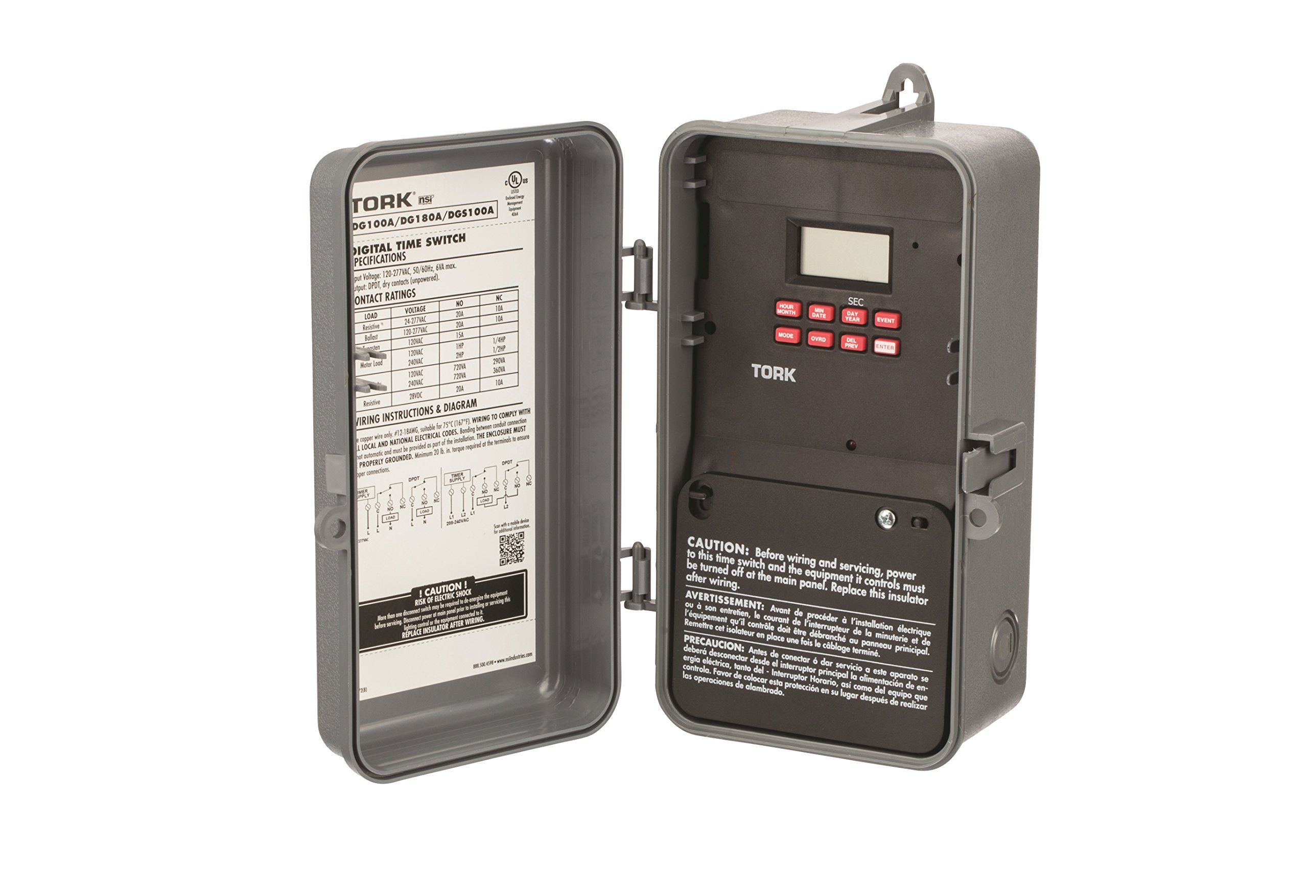 DG100 Series Multipurpose Control 365/7 Day Time Switch