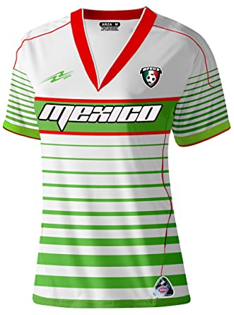 e72417fee Amazon.com  Mexico Slim Women Soccer Jersey  Clothing